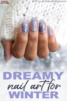 Tis the season for holiday parties, sparkly dresses and oh-so-much festive cheer. Take your Christmas look to the next level with this holiday nail design. Chill out with Ice Ice Maybe, an icy blue snowflake glitter design. Get holiday perfect nails at home with Color Street! #christmasnaildesign #easynaildesign #colorstreetnails Holiday Nail Designs, Simple Nail Designs, Holiday Nails, Fabulous Nails, Perfect Nails, Sparkly Dresses, Nail Polish Strips, Nails At Home, Color Street Nails