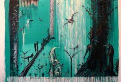 Bill Hammond Artist Painting, Modern Art, Art Prints, New Zealand Art, Cobra Art, Painting, Intuitive Art, Art, Kiwi Artist