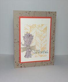 www.mayrastamps.blogspot.com  Truly Grateful Card using Stampin' Up!'s Truly Grateful stamp set.