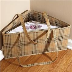 Hanger hamper - Must make for closets - great idea but using a different fabric to match our WIR decor
