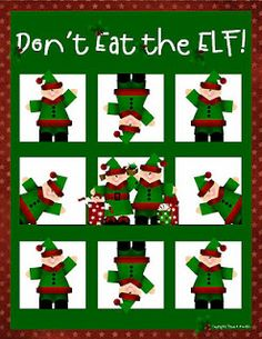 Don't Eat the Elf Game