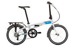 Tern Link D8 White/Blue 8Speed taittopyörä polkupyörä n 700 e suunnittelu Suomi:)