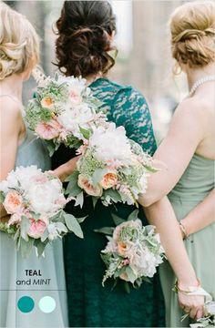 Schone Brautjungfernkleider