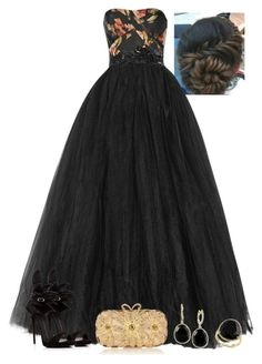 A fashion look from April 2016 featuring long floral dresses, high heels sandals and man bag. Royal Dresses, Ball Gown Dresses, Evening Dresses, Prom Outfits, Dress Outfits, Fashion Dresses, Expensive Dresses, Expensive Clothes, Elegant Dresses