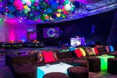 How awesome is this neon club-themed Bat Mitzvah with @jowyproductions! (Lighting: @thelightersidela / Design & Production: @jowyproductions / Venue: @fourseasons Doheny / Photo: @john_solano_photography / Balloons: @ballooncelebrations / Dance Floor & Risers: @barkerdecor / Floral: @cjmatsumoto / Entertainment: @checkone2ent)