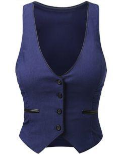 J.TOMSON Womens Button Down Vest J.TOMSON http://smile.amazon.com/dp/B00EVDMRIU/ref=cm_sw_r_pi_dp_6Txlub0K5P6FP