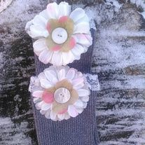 Products · Silver Flower Boot Cuffs · Temptations Creations's Store Admin