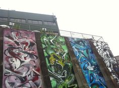 Graffiti Mural in Auckland New Zealand