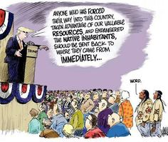 NATIVE AMERICANS NEED TO SUPPORT TRUMP, or else we will witness the invasion our ancestors have.