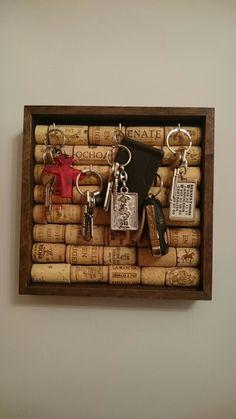 Porta llaves con corcho - Cork key keeper