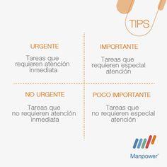 Tips Urgente & Importante - Manpower Perú