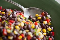 I love this stuff! Lost my recipe so glad to find this. I make it with mexicorn. SWEET CORN AND BLACK BEAN SALAD