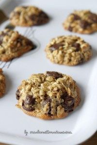 Dark Chocolate Cookies, Chocolate Biscuits, Biscuit Cookies, Breakfast Cookies, Diet Breakfast, Breakfast Ideas, Gluten Free Cookies, Healthy Cookies, Dessert Healthy