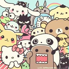 I KNOW ALL OF THEM...AM I READY? I SHALL BEGIN!!! Hello Kitty, Domo-kun…
