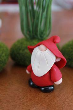 Polímero arcilla Gnome Color personalizado Gnome por GnomeWoods