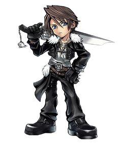 Squall Leonhart from Dissidia Final Fantasy Opera Omnia