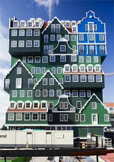 Top 10 Creative Buildings, Inntel Hotel (Zaandam, Netherlands)