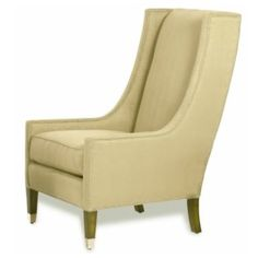 Navarre Tall Chair - traditional - armchairs - - by Kravet Board Stand, Sutton Place, Vintage Chairs, Accent Chairs, Traditional, My Style, Armchairs, Furniture, Stairs