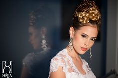 Wedding dress# bridal 2015# bridal hair#lace