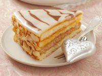 Weihnachtliche Marzipan-Torte