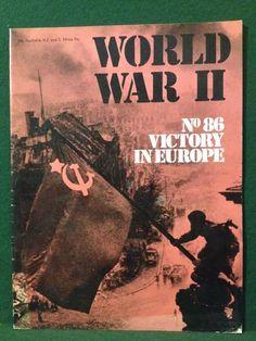 World War II Magazine Orbis Publishing 1974 Vol 6. No. 86 Victory In Europe