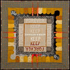 Amy Meissner, textile artist | Reliquary #2: Keep, 2015| Reliquary Series | www.amymeissner.com