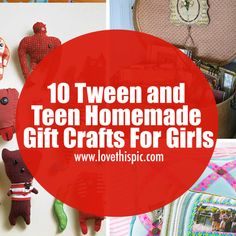 In this blog, we are sharing 10 lovely homemade gift crafts for teen and tween girls.