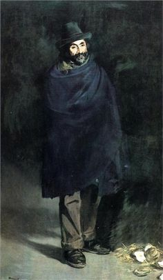 The philosopher, 1867  Edouard Manet this one is definitely quoting Valesquez more than the Absinthe drinker!