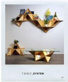 Main : J1studio    #mesa #cadeira #prateleira #vaso #flores #livros #madeira