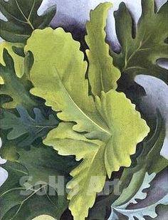 o'keeffe oak leaves - Google Search