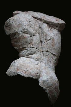 Back  sculpture paper pulp