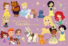 I love that they included the Aristocats and Oliver and Dodger