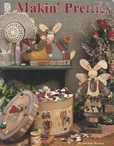 Makin' Pretties Decorative Tole Painting Craft Book