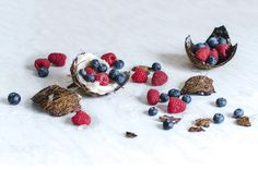 Pic: coconut and berries