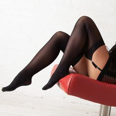 Classic Levante suspender stockings that are perfect for all year round wear. Velvet soft microfibre stockings that are very soft, highly durable, and sit comfortably on thigh. Team with your favourite garter belt. Opaque Stockings, Hosiery, Beachwear, Thighs, Legs, How To Wear, Fashion, Socks, Beach Playsuit
