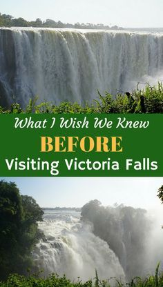 We consider ourselves pretty experienced travelers, but Victoria Falls had a few surprises, despite our research. Here's what we wish we knew, before we visited Victoria Falls, Zimbabwe. Tips about Visas, Safety, Fees and Things to do and Where to Eat whe