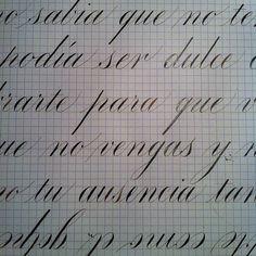 Some Copperplate Calligraphy by Ramiro Espinoza, via Behance