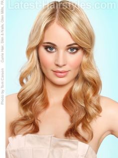 Long wavy easy hairstyles for long hair