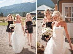 I absolutely LOVE this wedding photographer's style!  Check out their photos!  No clue who they are, but I would love to have some shots just like this couple! <3  ^_^
