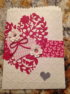 Stampin Up Blooming Hearts