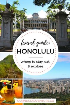 Travel Guide: Honolulu - where to stay, what to do & where to eat in Hawaii's capital // Trip Itinerary | Family Travel | Travel with Kids