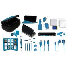 Nintendo 3Ds 22 In 1 Ultimate Pack - Black, 2015 Amazon Top Rated Accessory Kits #VideoGames