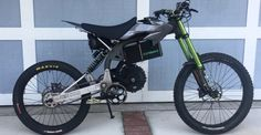 DH Bike or Moto? What do you think about this amazing electric bike prototype equipped with DVO Suspensions?