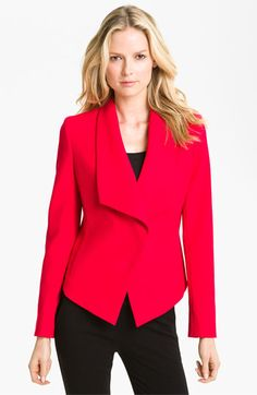 Anne Klein Cutaway Front Jacket available at #Nordstrom