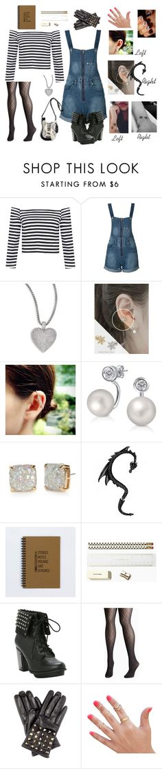 """Untitled #140"" by melinda1132001 ❤ liked on Polyvore featuring WithChic, Adriana Orsini, soo n soo, JoÃ«lle Jewellery, Bling Jewelry, Kate Spade, Avenue, Valentino, Mary Frances Accessories and women's clothing"