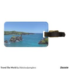 Travel The World Bag Tag