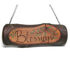 Blessings Rustic Organic Natural Bradford Pear Branch by tanjasova,