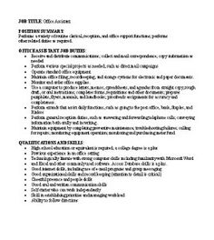 Free Sample Job Descriptions For Small Business Owners In Word Format  Http://growingyourbiz  Business Owner Job Description For Resume