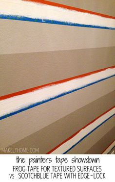 the painters tape showdown: frog tape for textured surfaces vs scotchblue with edgelock