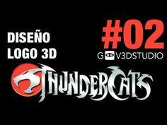 3ds Max 2012 Diseño Logo Thundercats Parte 02
